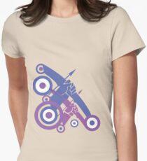 Take Aim Womens Fitted T-Shirt