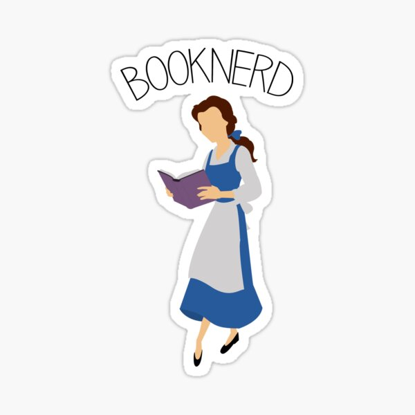 Booknerd Sticker