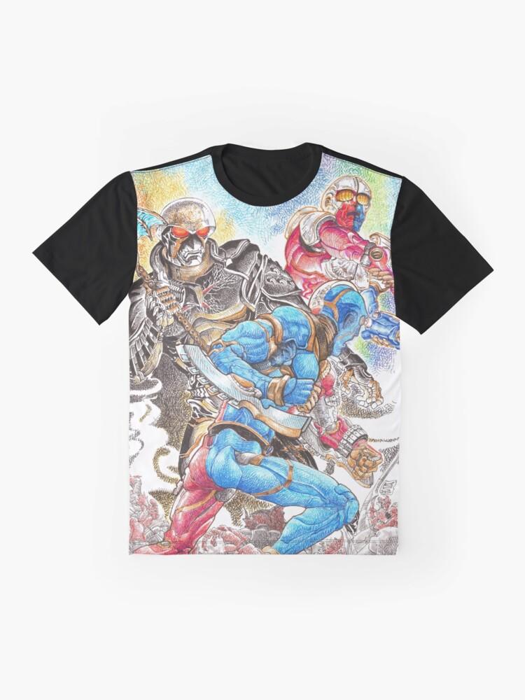 Alternate view of Kikaidas Battlefield Graphic T-Shirt