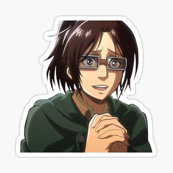 Hange Zoe Attack on Titan Sticker