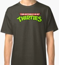 Teenage Mutant Ninja Thirties Classic T-Shirt