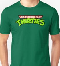 Camiseta ajustada Teenage Mutant Ninja Thirties