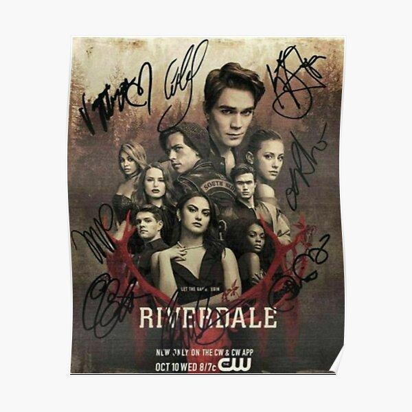 Affiche de réimpression d'autographes de Riverdale Poster
