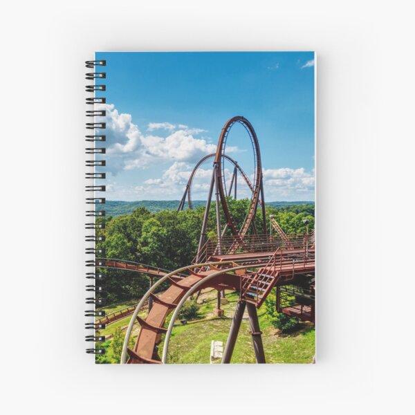 Wildfire Landscape Spiral Notebook