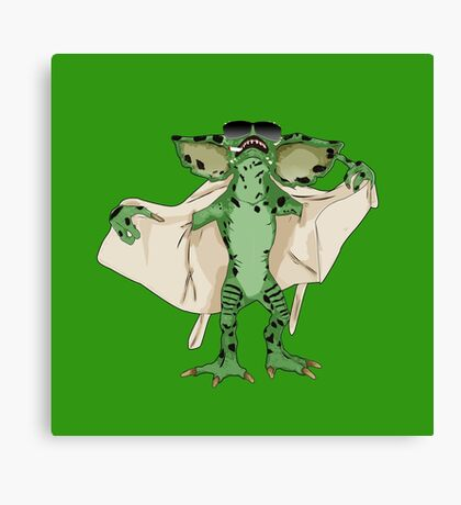Gremlin Flasher Canvas Print