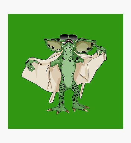 Gremlin Flasher Photographic Print