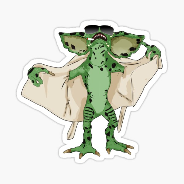 Gremlin Flasher Sticker
