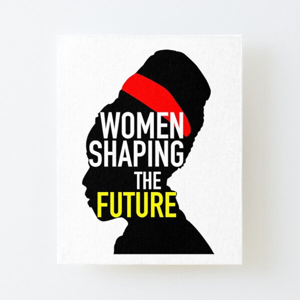 Amanda Gorman: Women Shaping The Future  Canvas Mounted Print