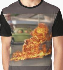 Thích Quảng Đức Blur Graphic T-Shirt