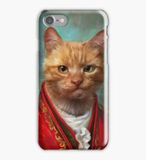 Court General Wise Cat  iPhone Case/Skin