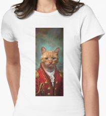 Court General Wise Cat  Womens Fitted T-Shirt
