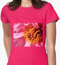 Pink Dahlia Centre Supermacro T-Shirt