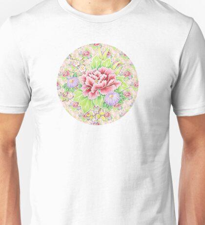 Pink Kimono Bouquet T-Shirt