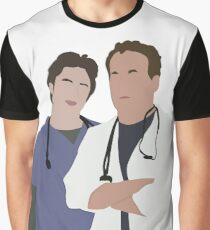 JD & Dr. Cox Graphic T-Shirt