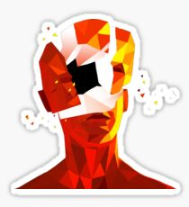 SUPERHOT Sticker