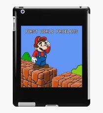 First World Problems iPad Case/Skin