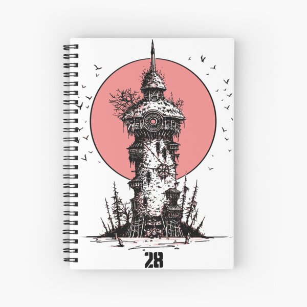 Submerged Giant Spiral Notebook