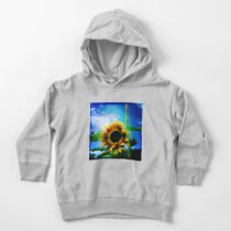 Sunflower Lover - Sunflower Art Photography Toddler Pullover Hoodie