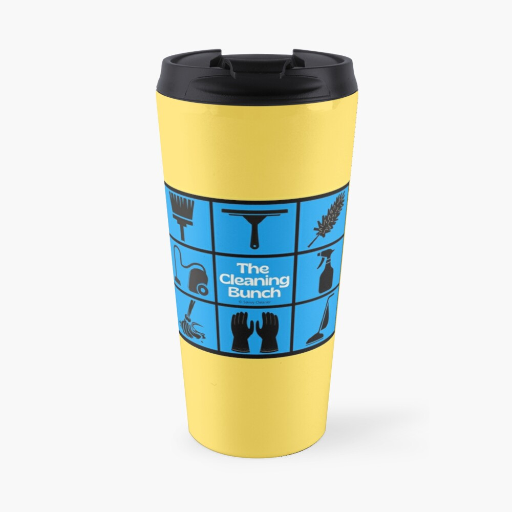 The Cleaning Bunch Cleaning Supplies Fun Lady Gifts Travel Mug