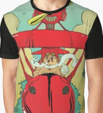 Porco Rosso  Graphic T-Shirt