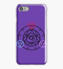 Space, Time, Antimatter iPhone Case/Skin