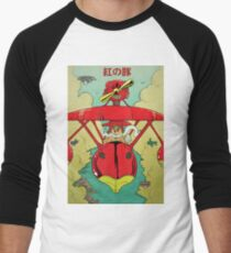 Porco Rosso  Men's Baseball ¾ T-Shirt