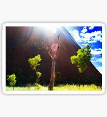 Beauty at Uluru Sticker