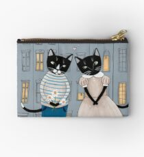 Cats First Date Studio Pouch