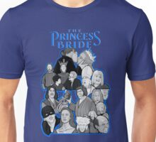 the Princess Bride character collage Unisex T-Shirt