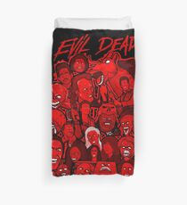Evil Dead collage art Duvet Cover