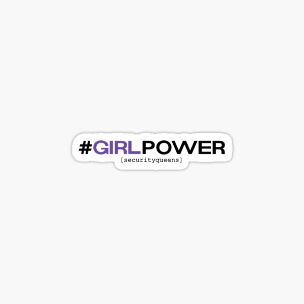 #GirlPower Sticker