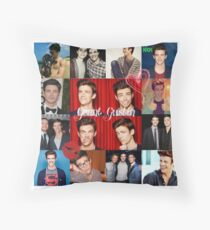 Grant Gustin Throw Pillow