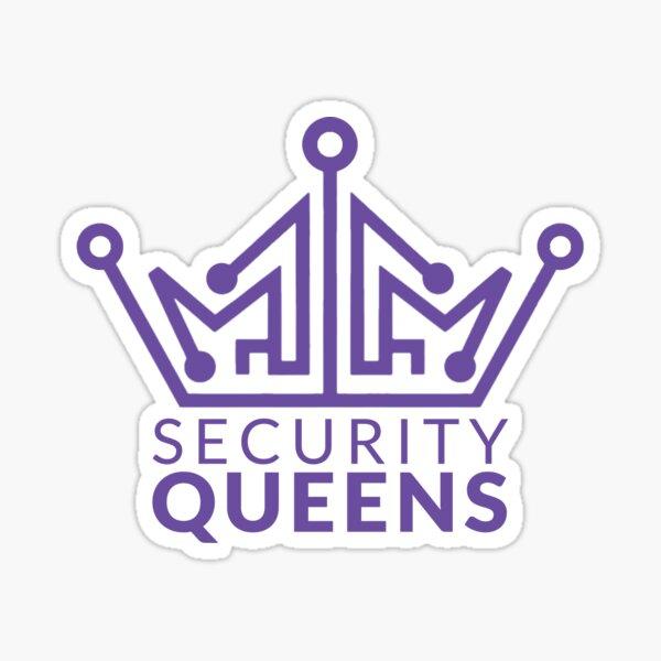 Security Queens Logo Sticker