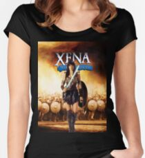 XWPPP Women's Fitted Scoop T-Shirt