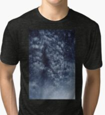 Blue veiled moon II Tri-blend T-Shirt