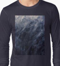 Blue Clouds, Blue Moon Long Sleeve T-Shirt