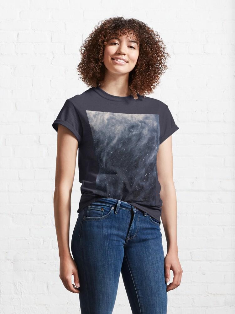 Alternative Ansicht von Blaue Wolken Classic T-Shirt