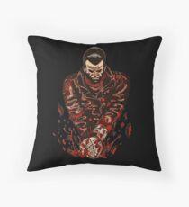Negan Lucille The Walking Dead Throw Pillow