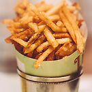 Fries in French Quarter, New Orleans by Victoria Avvacumova