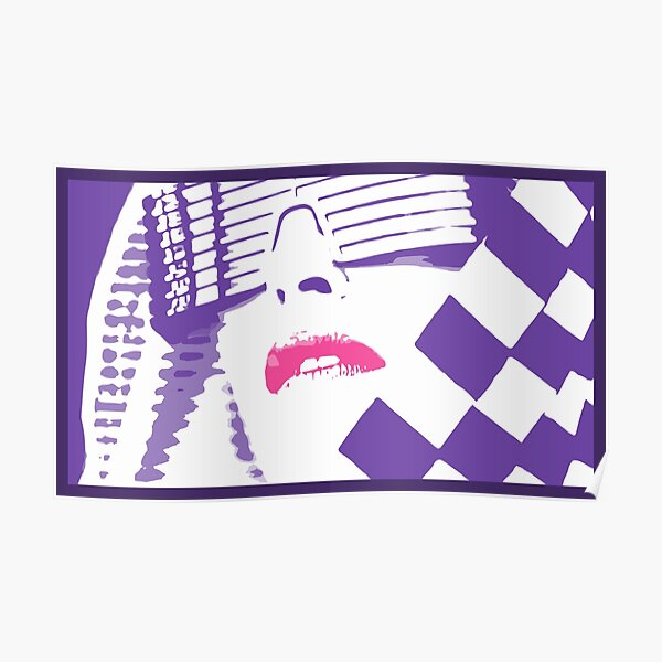 Kylie Minogue - In My Arms (pink and purple with border) Poster