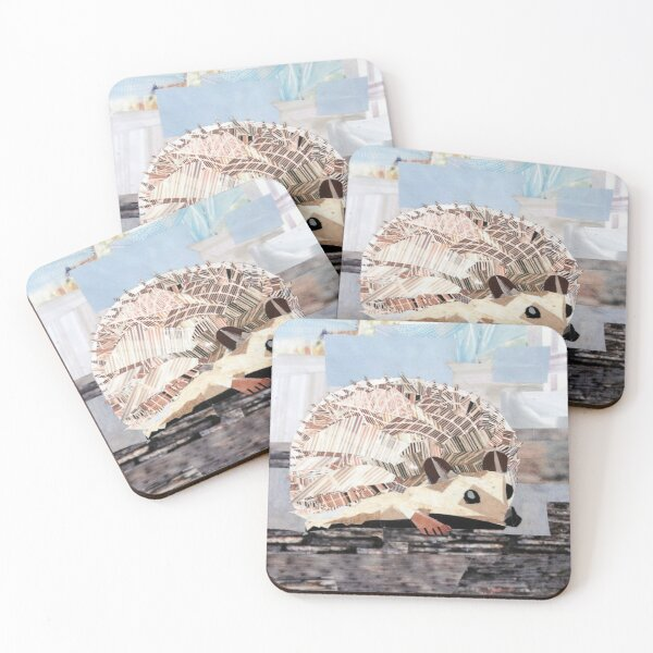Hedgehog Coasters (Set of 4)