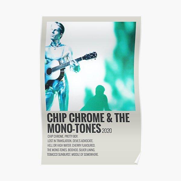 the neighbourhood chip chrome and the monotones album  Poster