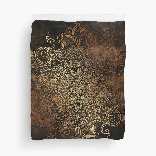 Mandala - Copper Duvet Cover
