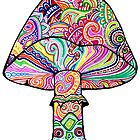Swirly Mushroom by ogfx