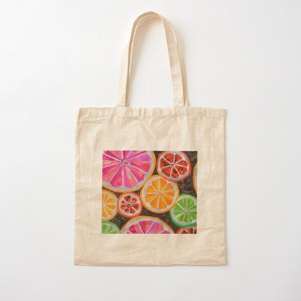 Citrus Cotton Tote Bag