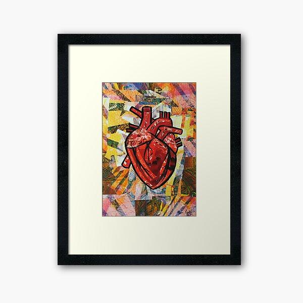 You Took My Heart Framed Art Print