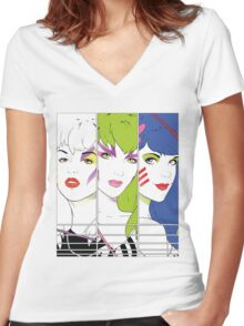 Our Songs Are Better! (Without Saxophone) Women's Fitted V-Neck T-Shirt