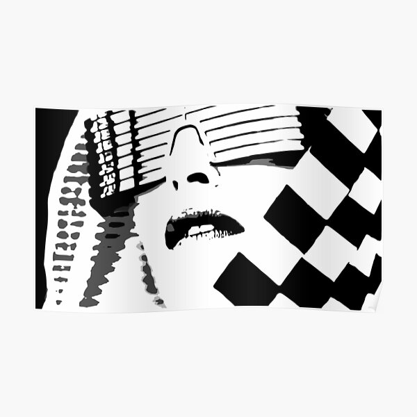 Kylie Minogue - In My Arms (black and white) Poster