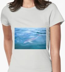 Bottlenose Dolphin Womens Fitted T-Shirt