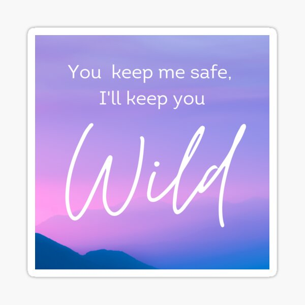 Mottled Wild Sticker